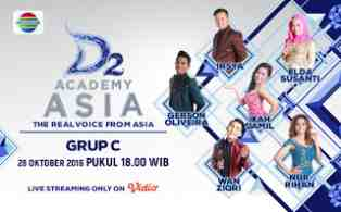 Download Lagu D`Academy Asia 2 Top 36 Besar Group C Lengkap